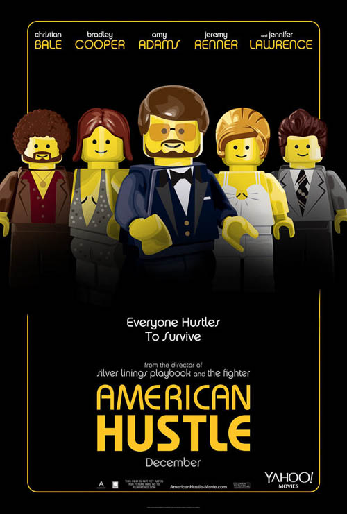 American Hustle. Old Red Jalopy. LEGO Posters.