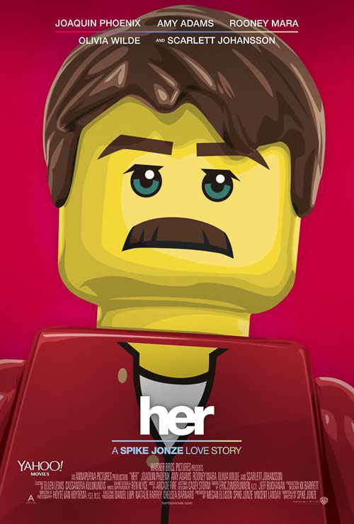 Her. Old Red Jalopy. LEGO Posters.