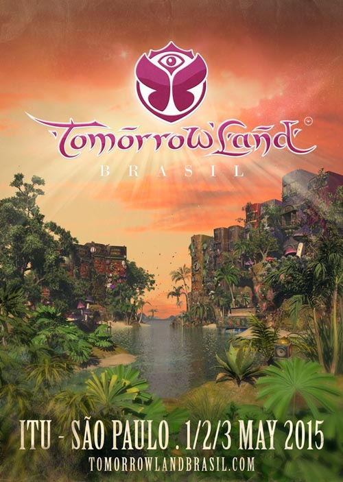 Cartel Tomorrowland 2015. Festival poster.