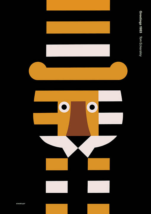 Greetings (1983). Tom Eckersley.