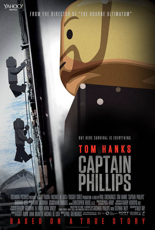Capitán Phillips. Old Red Jalopy. LEGO Posters.