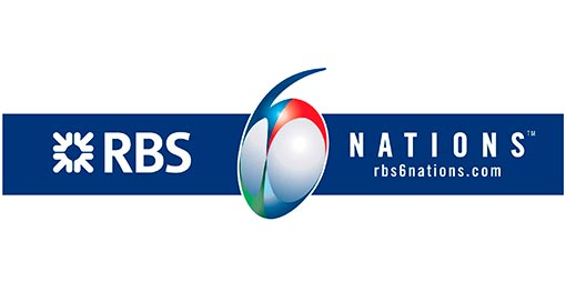RBS 6 Nations Rugby Logo