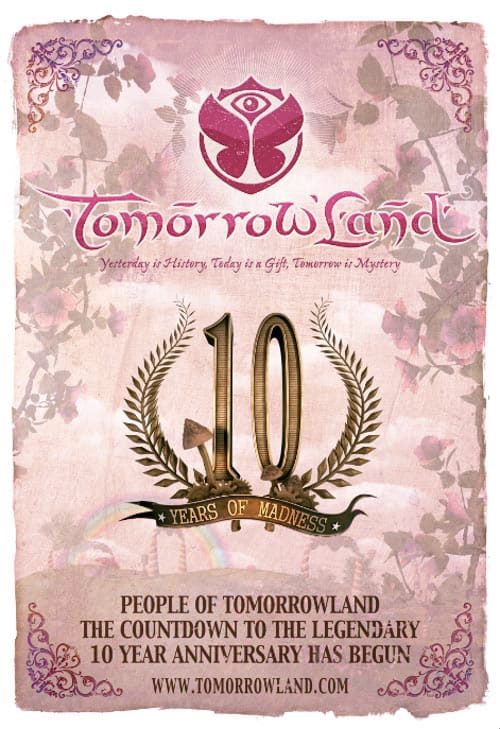 Festival Tomorrowland poster