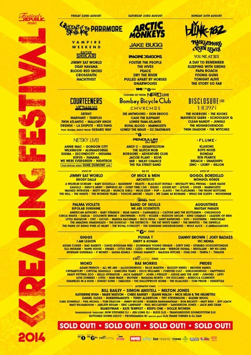 Reading Leeds Festival Cartel