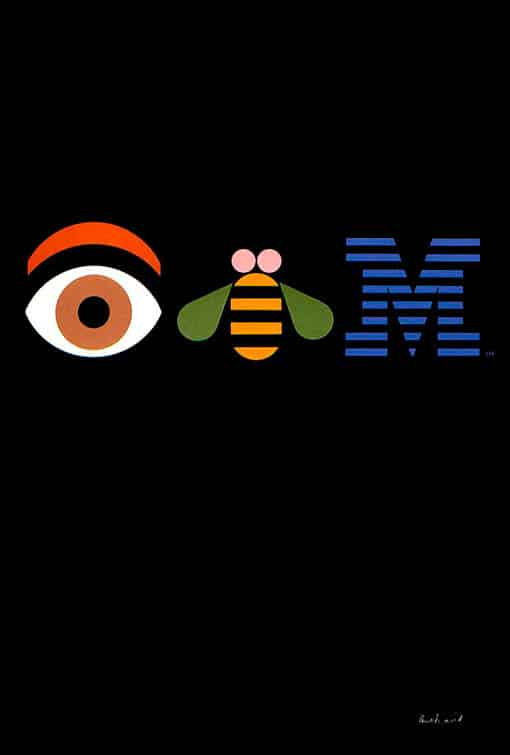 IBM THINK (Eye-Bee-M) | Paul Rand.