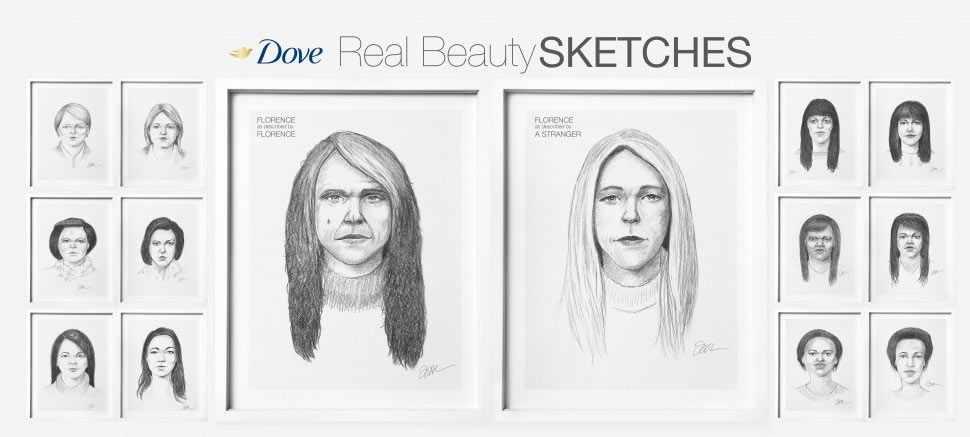 Dove (Unilever) | Real Beauty Sketches
