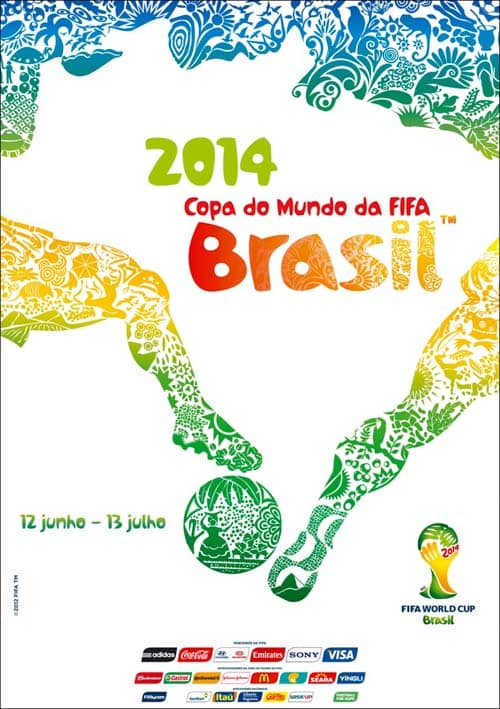 2014 poster fifa world cup brasil