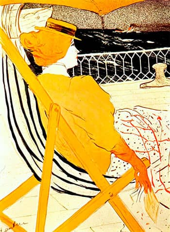 the passenger in cabin toulouse lautrec