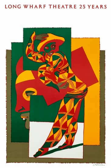 1989 long wharf theatre 25 years milton glaser