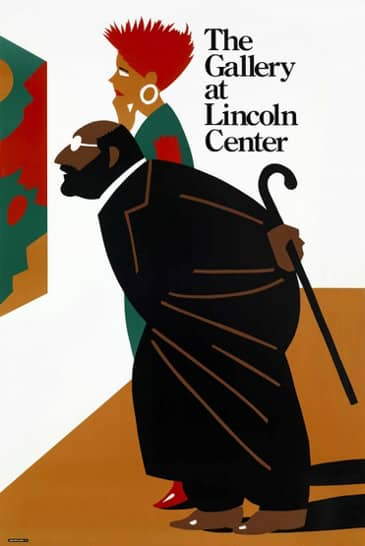 1990 the callery at lincoln center milton glaser
