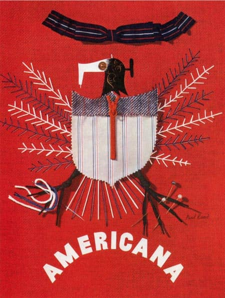 1939 americana interior paul rand