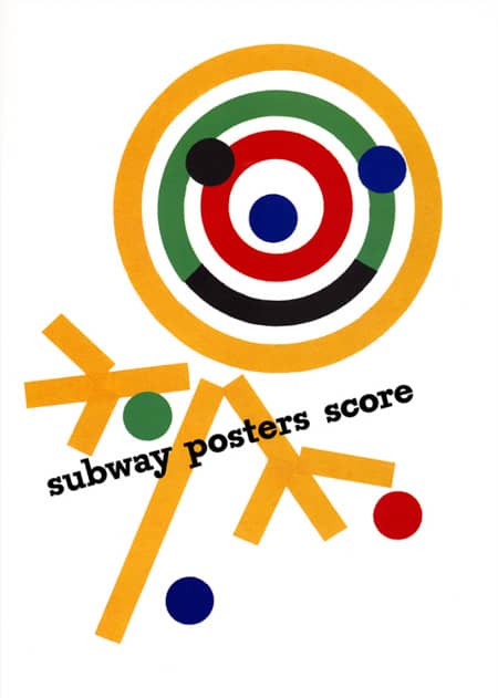 1947 subway advertising paul rand