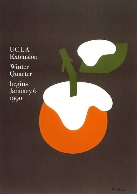 1990 ucla winter paul rand