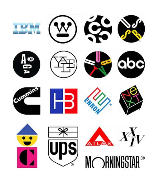 logos identidad corporativa paul rand